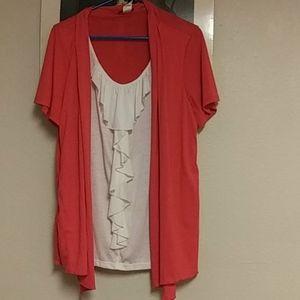 Womens business casual tops short sleeve unworn